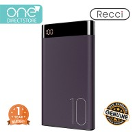 Recci LED Screen Mobile Power Bank 10000mAh - Turbo