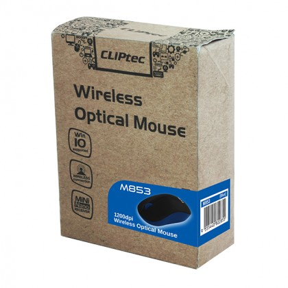 Cliptec 2.4Ghz Wireless Optical Mouse M153