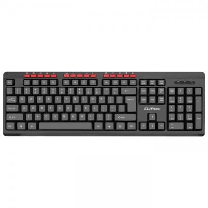 CLiPtec WORKSPACE-AIR XILENT Wireless Silent Multimedia Keyboard & Mouse Combo Set RZK341