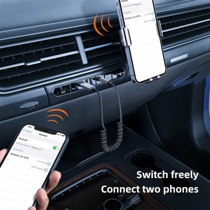 Mcdodo USB-A to DC3.5MM Car Bluetooth Audio Cable (Support Calls, Listen Music) CA870