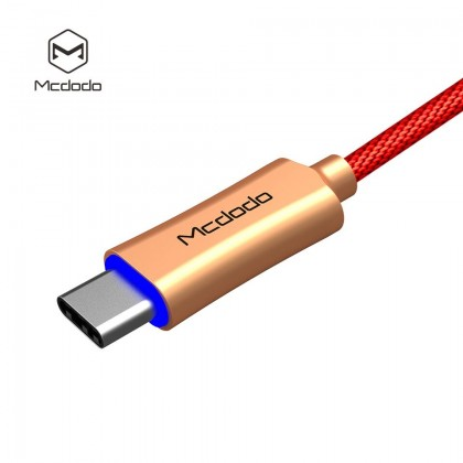 Mcdodo 3A Auto Disconnect Type-C Cable 1M (Support QC3.0) - CA288