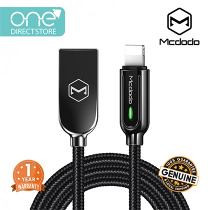 Mcdodo Smart Series Auto Disconnect & Recharge Lightning Cable 1.2M - CA526